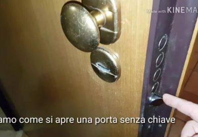 Aprire la porta blindata senza chiave: come si può fare?